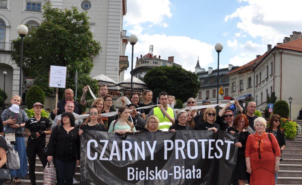 Czarny Protest Bielsko-Biała